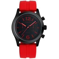 ingrosso resina al quarzo-2018 vendita calda orologi da polso al quarzo moda resina SINOBI per uomo maschile orologio sportivo