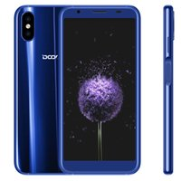 Wholesale Doogee Android - Doogee X55 3G Smartphone 18:9 5.5 Inch Android 7.1 Quad Core 1GB RAM 16GB ROM Dual Cameras Side Fingerprint 2800mAh