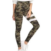 89b28b14e0094 Camouflage Yoga Pants Women' Length Leggings Printed Workout Pants Women's  Sweatpants