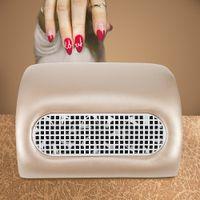 bolsas de pó de vácuo venda por atacado-Gustala 100 V-240 V Poderoso Prego Coletor De Poeira de Sucção Manicure Máquina de Aspirador de pó Ferramentas Manicure Com 3 Fãs + 2 Saco de Poeira