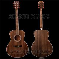 guitarras acústicas canhotas venda por atacado-Guitarra acústica esquerda de 41 polegadas da música de Afanti (AFA-915)