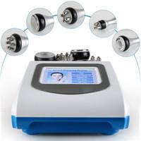 ultraschall-kavitationsmaschine für gesicht groihandel-5-1 Ultraschall Fettabsaugung 40k Kavitation Fettverbrennung Biopolar RF Gesichtspflege Vakuum Körper abnehmen Maschine Spa