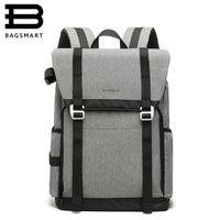 Wholesale camera bag pads resale online - BAGSMART New DSLR Camera Backpack Retro Camera Bag Grey Travel Backpack Photography Bag with Padded Custom Dividers