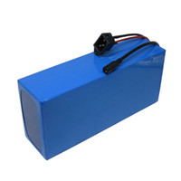 Wholesale 48v lithium scooter battery resale online - High power w V AH Electric Bike Battery Motor Li ion Lithium Battery Electric Scooter With A Charger A BMS