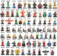 Wholesale Spiderman Blocks - Wholesale minifigures Super Heroes Avengers Spiderman Space Wars Harry Potter Hobbit Figure Super Hero Mini Building Blocks Figures Toys