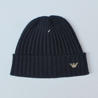 Wholesale scarf animal beanies online - 2018 The latest high quality men and women single A AAA sex beanie women leisure knitting skateboard head cover cap outdoor lovers fashion