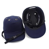 Wholesale hard head helmets for sale - Group buy 2018 New Safety Bump Cap Helmet Baseball Hat Style Protective Safety Hard Hat For Wear Head Protection Holes