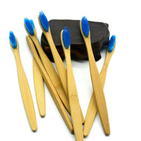meilleurs prix minuteurs achat en gros de-Brosse à dents en bambou Brosse à dents en bambou arc-en-brosse Brosse à dents en bois Brosse à dents en bois colorée Tête de brosse à poils souples