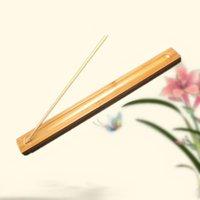 ingrosso materiale di bambù-Bruciatore di incenso del bastone del prodotto di bambù del bastone del materiale di incenso del supporto di incenso profumato all'ingrosso Trasporto libero QW8923