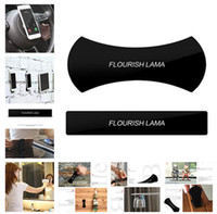 Wholesale mobile stickers - FLOURISH LAMA Powerful Strong Holder Stick Glue Anywhere Wall Sticker Anti Slip Washable Repeatedly Car Mobile Phone Bracket Mounts a794