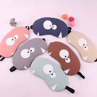 Wholesale fancy cover - Portable Soft Travel Sleep Rest Aid Eye Mask Fashion Cartoon Various Fancy Cover Eyes Patch Hot Cold Compress Sleeping Masks