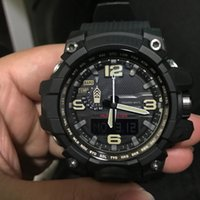 Wholesale waterproof drop boxes for sale - AAA Drop shipping Top quality men G sports digital LED watch and shock and waterproof with box