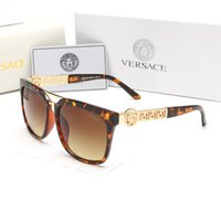 ingrosso occhiali notturni-Occhiali da sole vintage con montatura in oro di moda Occhiali da sole firmati da uomo di lusso per uomo Occhiali da sole da uomo per donna con scatola