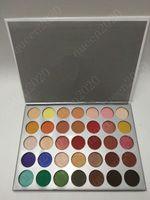36 palette großhandel-Heißware Kosmetik Schimmer Lidschatten Paletten 36 Farben Frauen Wasserdicht Maquillaje Shimmer Matte Lidschatten Kostenloser Versand
