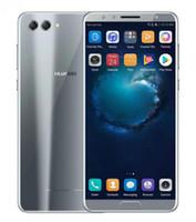 huawei android 4gb оптовых-Huawei Nova 2S 4GB / 64GB 6.0-дюймовый полноэкранный просмотр 4 камеры 2rear 2Front 20MP Android 8.0 разблокирован новый телефон