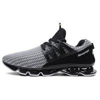 chaussures de course à ressort achat en gros de-LoadingFunds New Men's Running Shoes Printemps Blade Sneakers Cushioning Outdoor Sport Chaussures de sport pour hommes Athletic