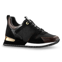 Wholesale popular shoes men - 2018 popular Designer sneakers leather trainers Women men casual shoes fashion Mixed color with box xz157