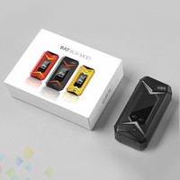 Wholesale led features - Authentic OBS Bat Mod Vaporizer 218W Box Mod E Cigarette Featuring the 7 Colors gradients LED light DHL Free