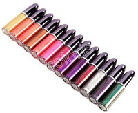 Wholesale bright full - Grand Illusion Liquid LipColour Holographic Shine Metal Liquid LipColour Bright Shimmer Metallic Polarizing Lip Glaze 5ML 1Set=12Piece