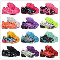 calçado de corrida venda por atacado-2019 Salomon VELOCIDADE CRUZ 3.0 Esporte FIT Mulheres Designer de Esporte Sapatos de corrida para As Sapatilhas Das Mulheres Sapatos Casuais tênis de Treino