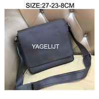 Wholesale genuine leather document bags - Men Cross Body Genuine Leather Bags Messenger Bag Leather Office Bags for Men Document Briefcase Travel Bags
