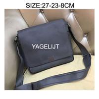Wholesale office men leather bag - Men Cross Body Genuine Leather Bags Messenger Bag Leather Office Bags for Men Document Briefcase Travel Bags