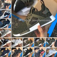 Wholesale Children Shoes For Cheap - Top Quality Hot Cheap New NMD XR1 Men & Women Glitch Black White Blue Camo Adult Kids Children Running Shoes For men sports shoe Size 36-45