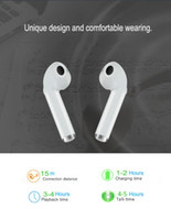 Wholesale wireless earbuds for cell phones - Wireless Bluetooth Earbuds Earphone with Charging Box SW7 Mini Twins TWS Wireless Headset In-Ear Earpiece For AirPods iPhone 8 8 plus X 7 7