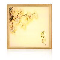 Wholesale chinese ceiling lights - Vanilla new Chinese ceiling lamps minimalist living room lights dimming LED rectangular decorated Japanese-style b