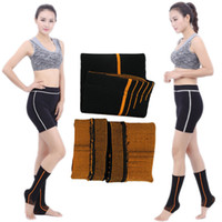 Wholesale Football Function - Outdoor Sports Ankle Support Multi-Function Four-Sided Elastic Nylon Ankle Sleeve For Running Clamber basketball Football Free DHL G897Q