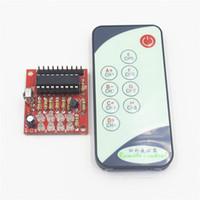 пульты дистанционного управления оптовых-8CH Channel Way Infrared Remote Control Switch Self-lock IR Receiver Board 3V 5V DC, 9-key Remoto Transmitter