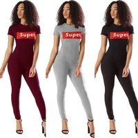 Wholesale tight sexy club women jumpsuits - Woman Tight Bodysuit Sexy Overalls Night Club Rompers Party Playsuit SUPER Bodycon Jumpsuit Short Sleeve Jumpsuit Gray Black Burgundy