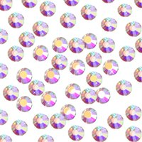 Wholesale flatback charms - Nail Art Rhinestone Ab Crystal Shining 3d Nail Art decoration Rhinestones Flatback Glass Charms Gems Stones for Nails Decoration Eye Makeup