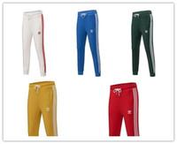 harem spor pantolon erkek toptan satış-Moda Marka Erkek Kadın Jogger Spor Pantolon Spor Tayt Elastik Bel Rahat Harem Sweatpants Yoga Spor Çiftler Pantolon 6 Renk 4xl