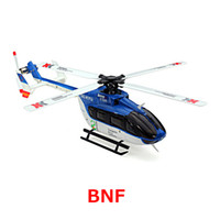 Wholesale 6ch helicopters resale online - Original XK K124 BNF Without tranmitter EC145 CH Brushless motor D G System RC Helicopter Compatible with FUTABA S FHSS