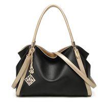 Wholesale trend big bags - 2018 new handbags Europe and the United States fashion handbag large-capacity trend shoulder slung Tote bag big bag