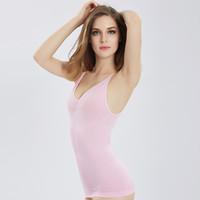 женские жилеты для похудения оптовых-Sexy Strap Cami Tank Tops Women Body Shapers Tops Underwear Slimming Vest Corset Shapewear for Female JH985635