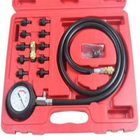 Wholesale bmw engine oil - Engine Oil Pressure Test Kit Tester Low Oil Warning Devices Car Garage Tool