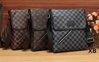 Wholesale satchel messenger for sale - hot luxury men designer Cross Body bags luxury famous messenger crossbody single shoulder bag man business trip bags