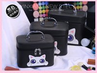 Wholesale Pink Storage Boxes - new style Women Makeup Bag Tote Bags Storage Bag Fashion Cosmetic Bag Travel Waterproof Wash Bags