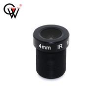 iris de l'objectif achat en gros de-CW Security Surbeillance CCTV Board lens 4mm F1.8 85degree 1 / 2.5 5MP M12 Montage Iris Nouveau