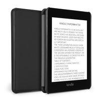 ingrosso accendete i casi di cuoio di paperwhite-Il raso sottile intreccia il caso astuto del supporto di vibrazione di sonno automatico dell'unità di elaborazione per Amazon Kindle Paperwhite 4 2018