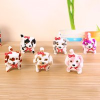 Wholesale old dog doll for sale - Group buy Electronic Walking Dogs Kids Children Interactive Electronic Pets Doll Plush toys Neck Bell Barking Electronic Dog Toy OTH295