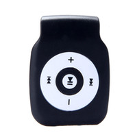 Wholesale tf storage card for sale - Group buy Mini Clip Metal USB MP3 Metal Player Support Micro SD TF Card Music Media Storage medium Fashion Delicacy