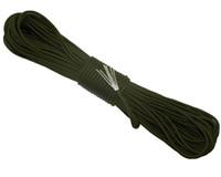 cordas de arco-íris venda por atacado-Conjunto de Rainbow Color 550 Popular Tipo III 7 Strand Parachute Cord Cordão Paracord Mil Spec Spec 100FT frete grátis