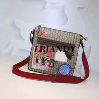 Wholesale Shoulder Bag Briefcase Men - 2018 NEW Luxury brand MEN Crossbody PVC+Leather MESSENGER BAG DISTRICT men shoulder for Men Document Briefcase Bags