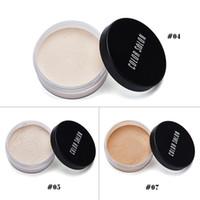 ingrosso salone di marca-Color Salon Brand Shimmer Matte Loose Setting Powder Oil Free Minerale traslucido Paletta per cipria in polvere Pelle setosa in polvere