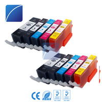 Wholesale Pixma Printers - 10 Pack Ink Cartridges PGI520 CLI521 for PIXMA ip3600 iP4600 MP540 MP620 MP630 MP980 MX860 MX870 Printer