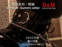 Wholesale black slave dog collar for sale - Group buy HC9171 natural latex Pure handmade rubber collar the alternative dog slave bandage can be locked collar
