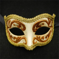 Wholesale Mardi Gras Prom Dresses - Men Women Costume Prom Mask Venetian Mardi Gras Party Dance Masquerade Ball Halloween Mask Fancy Dress Costume Makeup Dance FA51